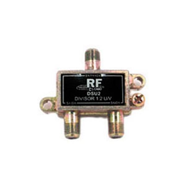 Divisor de 2 saídas (5-1000 MHz) Fundo Soldado