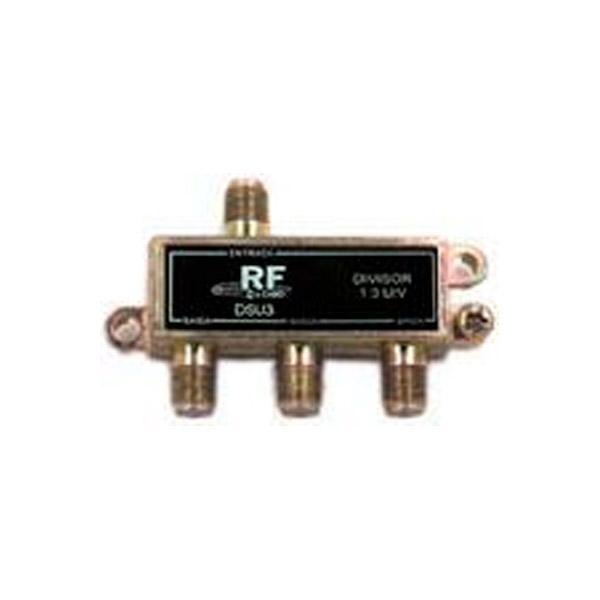 Divisor de 3 saídas (5-1000 MHz) Fundo Soldado