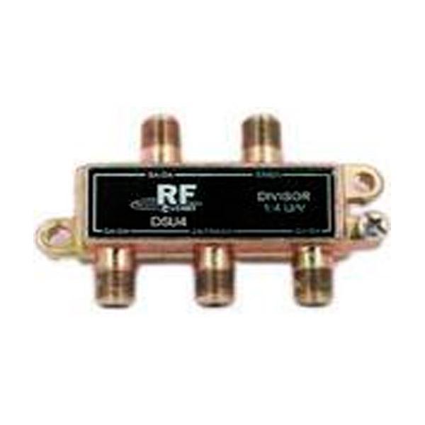 Divisor de 4 saídas (5-1000 MHz) Fundo Soldado