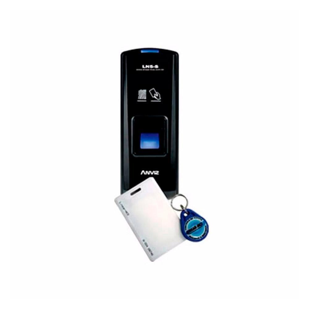 Linear Leitor Biometrico com RFID LN5S Escravo