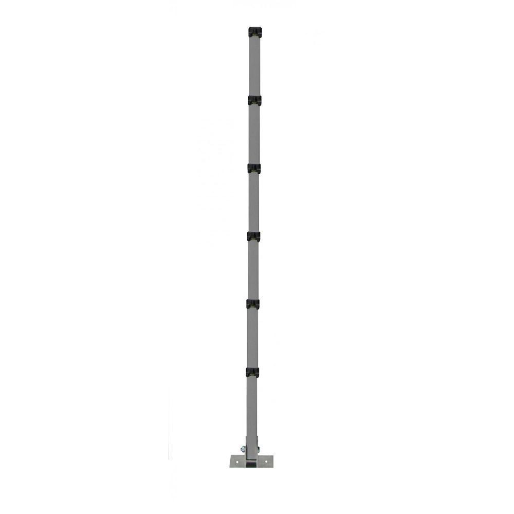 Haste Cerca ElétricaPVC com Fibra de Vidro 6 Isol. 10 peças