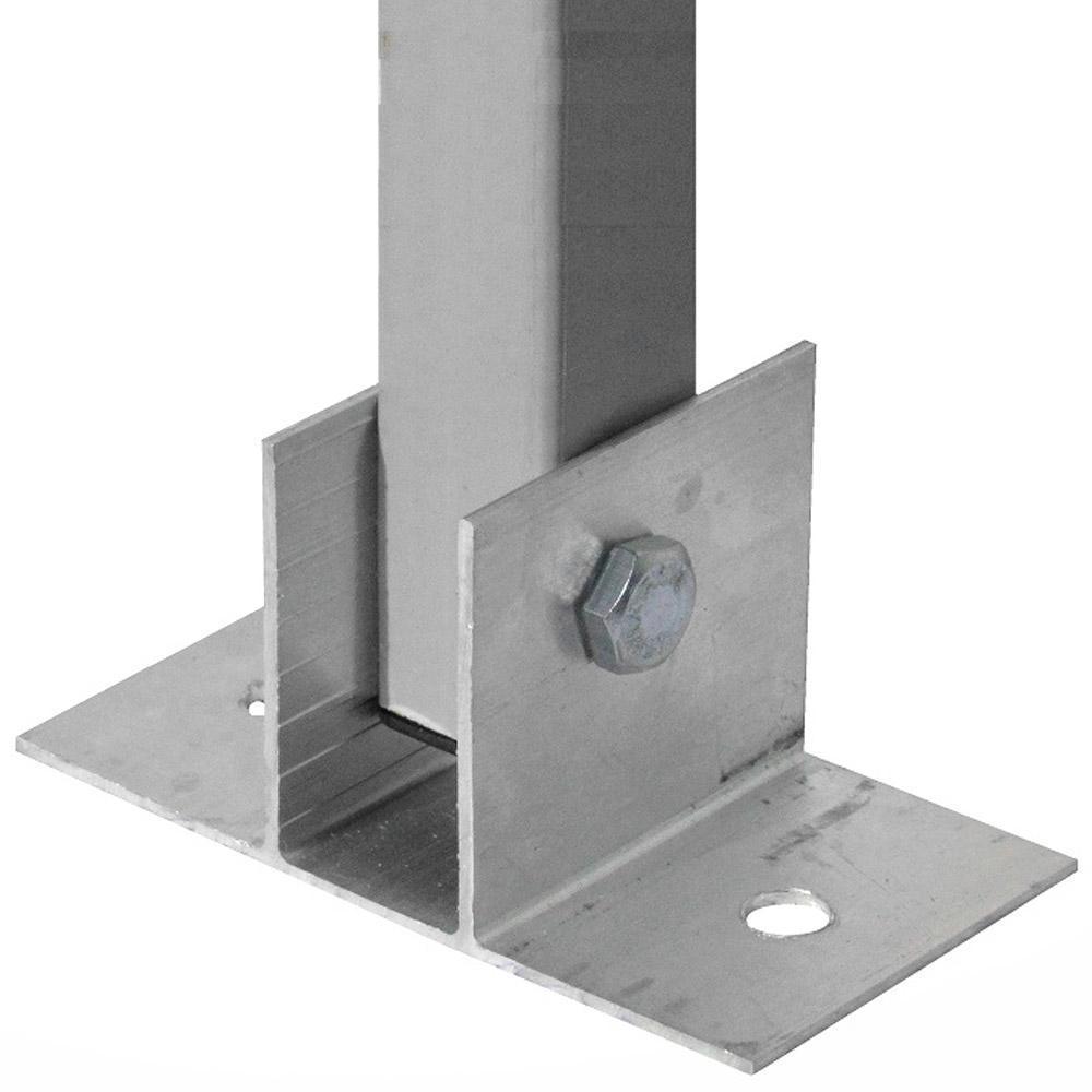Haste Cerca ElétricaPVC Industrial 6 isol. 10 peças