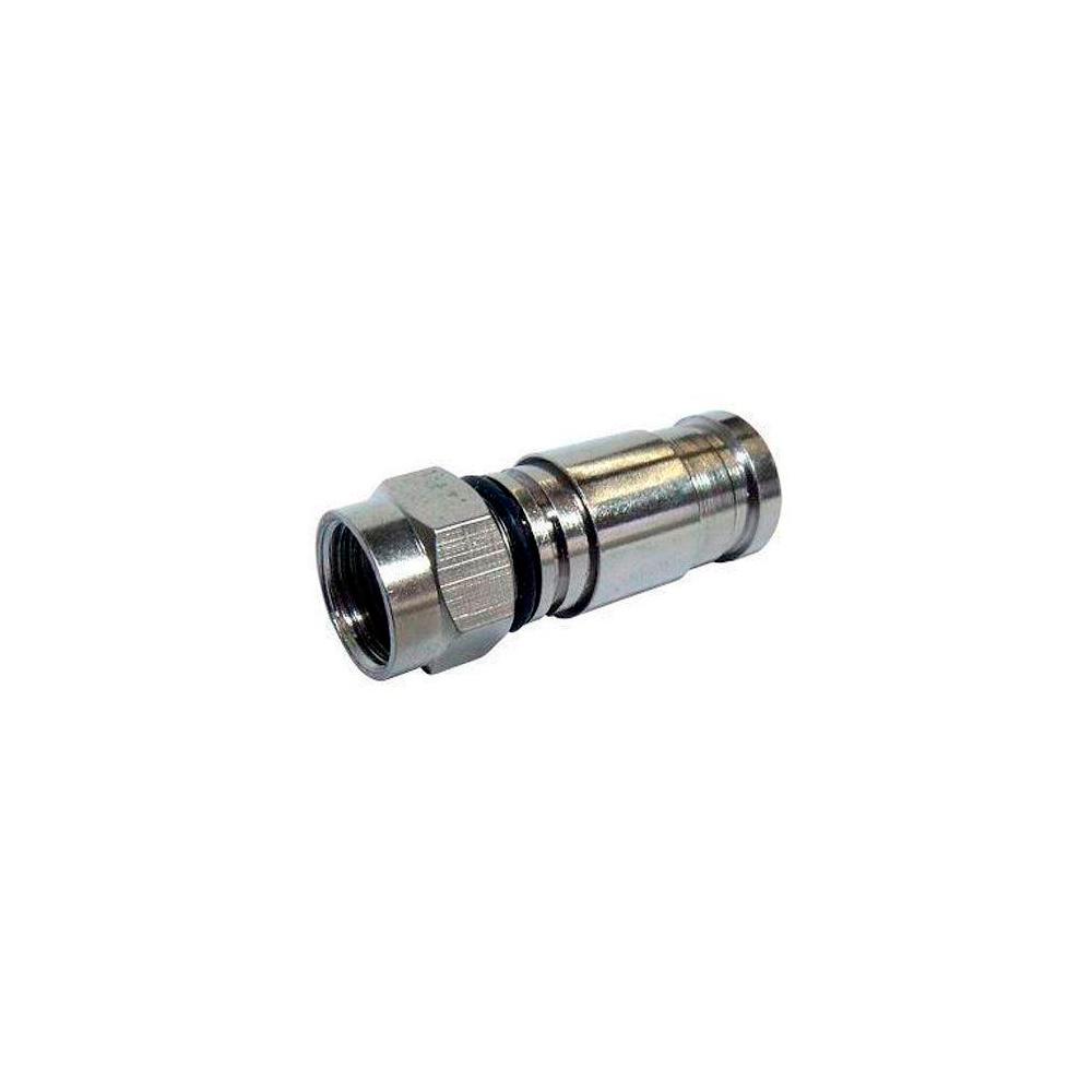 Conector Compressão RG59 Metal