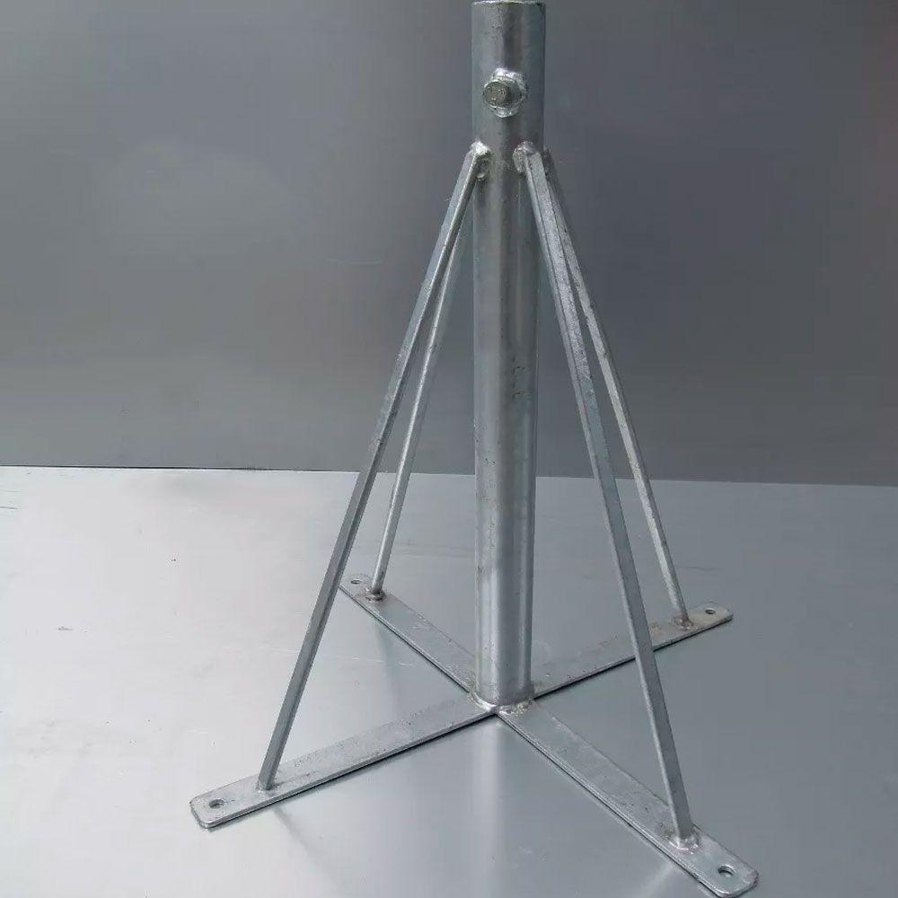 Torre para Laje/Piso 1 pol- 40cm Galvanizada fogo