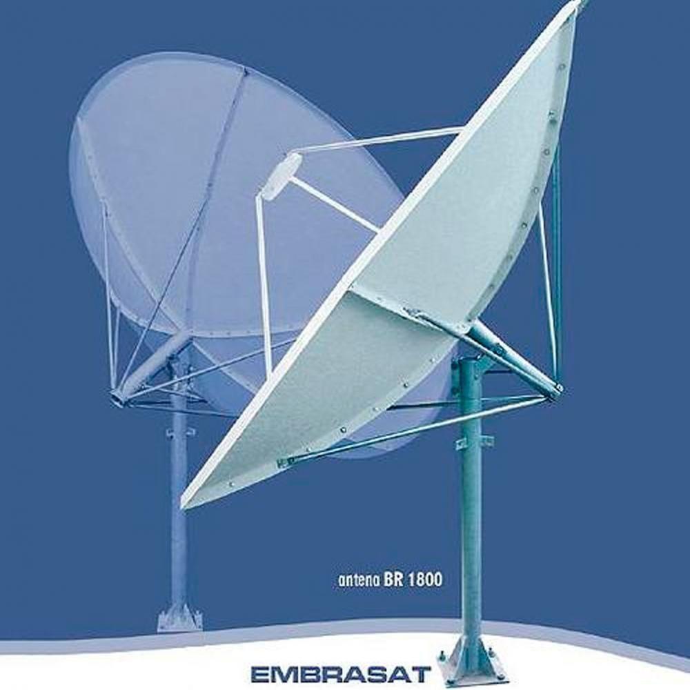 Antena Parabolica de Fibra 1.80mts