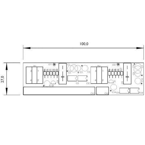 HDL Placa de 2 Troncos Facilitare