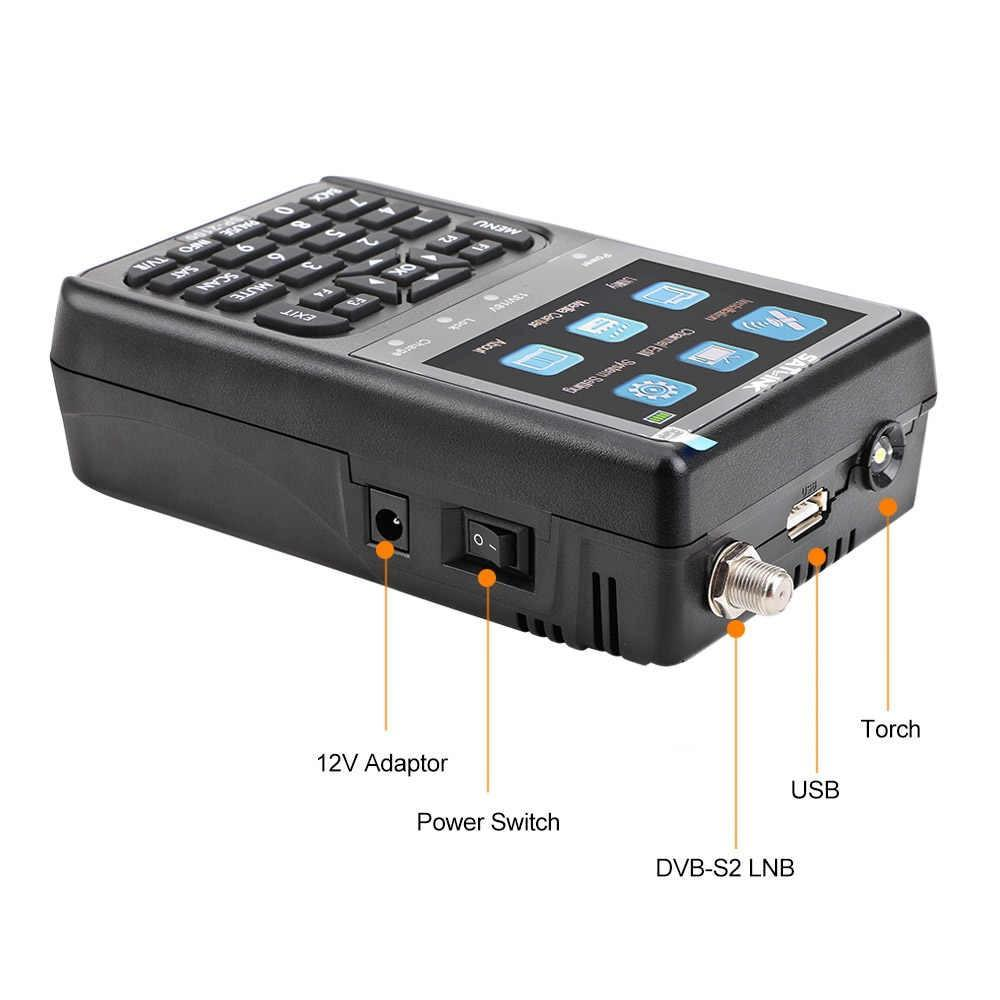 Medidor de Campo SATLINK SP2100 DVB-S/S2