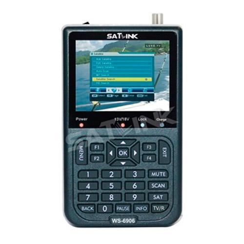 Medidor de Campo SATLINK WS6906 DVB-S (Modelo Econômico)