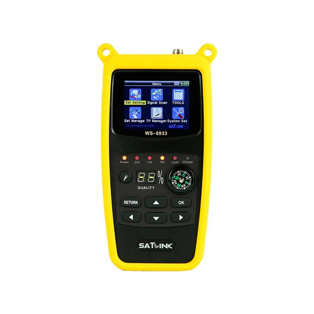 Medidor de Campo SATLINK WS 6933 DVB-S/S2
