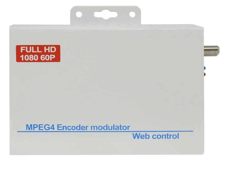 Modulador Encoder HDMI de TV Digital ISDB t FULL HD