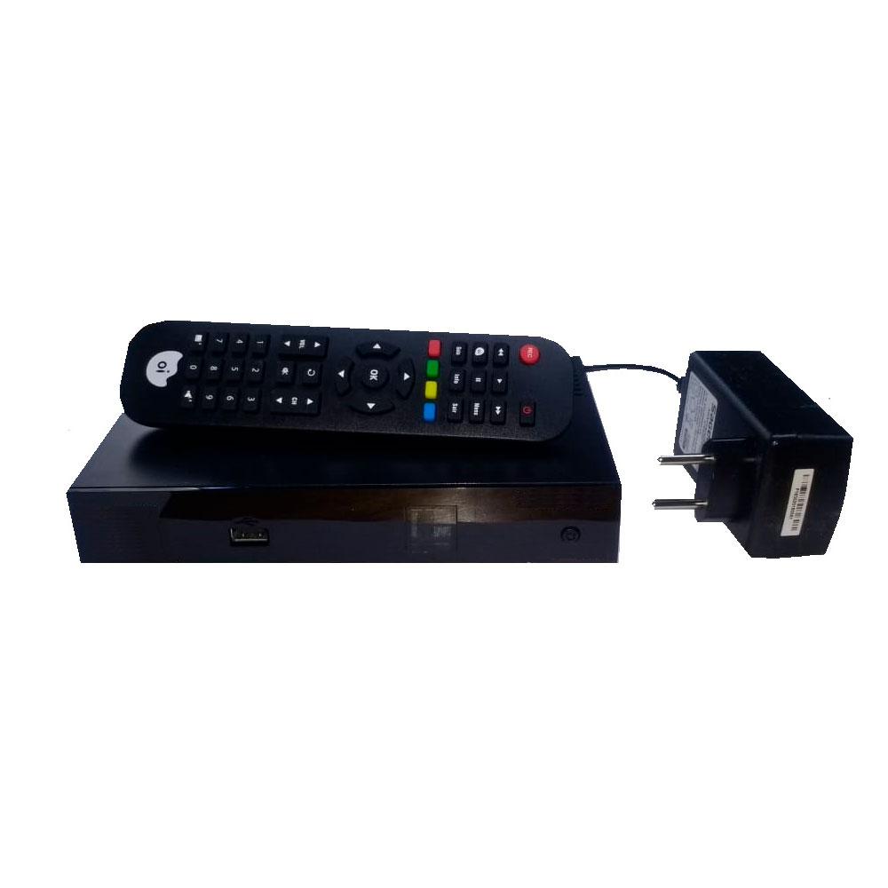 Receptor Oi Tv Livre Hd Habilitação Grátis KIT 5 Peças
