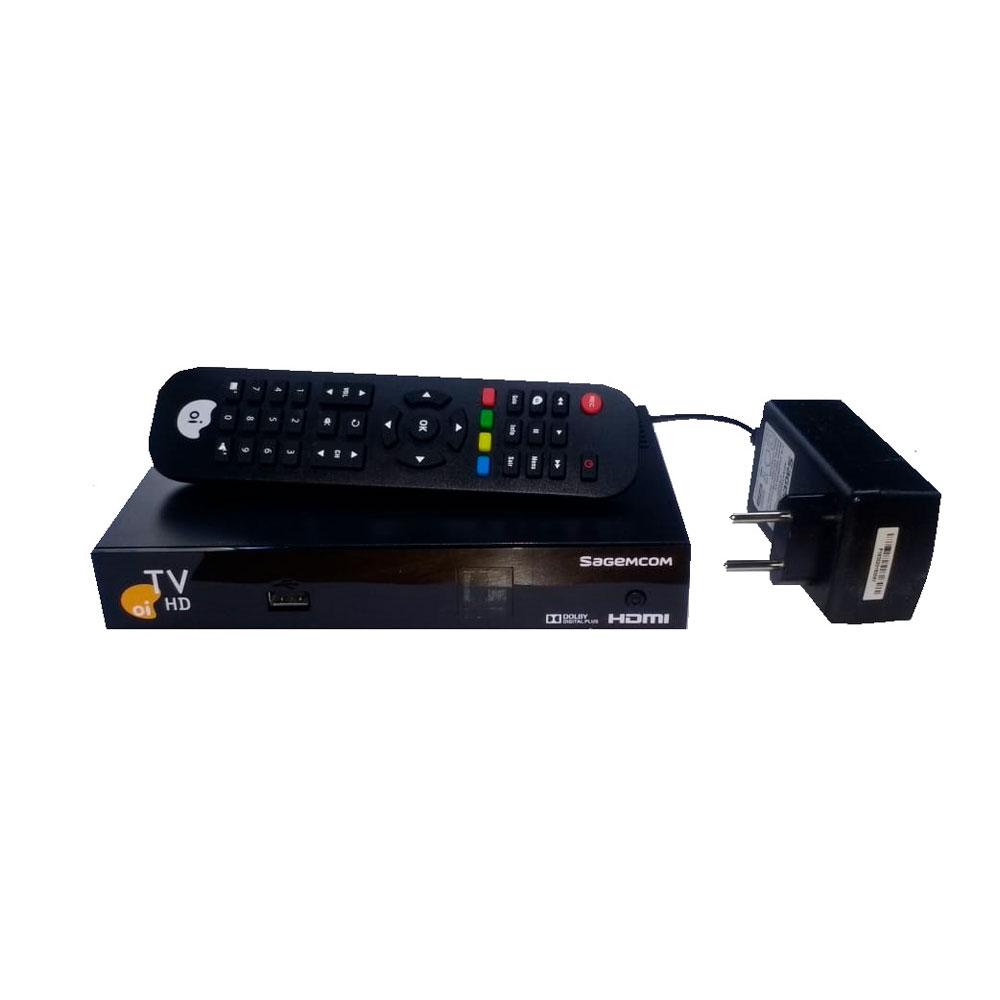 Receptor Oi Tv Livre Hd Habilitação Grátis KIT 3 Peças