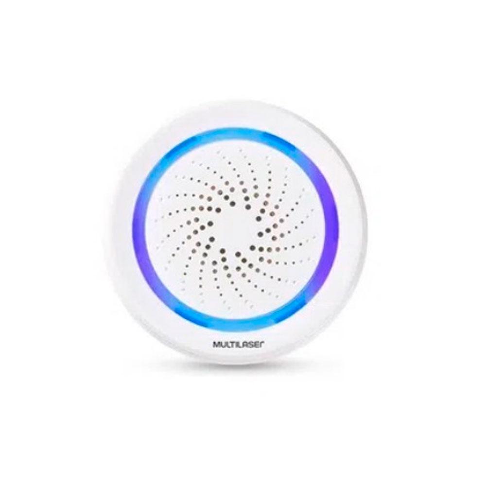 Sirene de Alarme Inteligente Wi-Fi – Multilaser Liv SE232