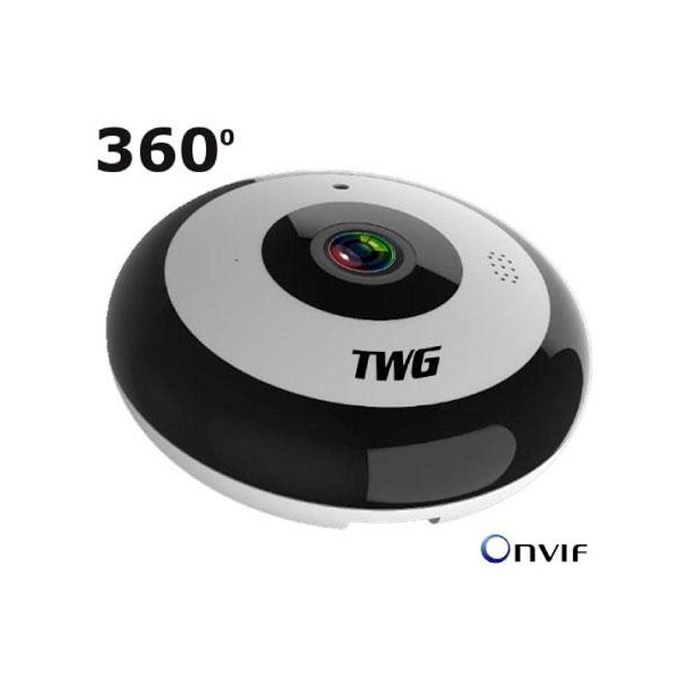 TWG 9225 Camera IP Fisheye Onvif WiFi 2 MP